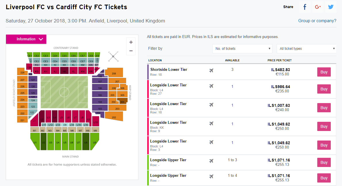 stubhub event page screenshot