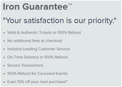Ticket Monster's buyer guarantee