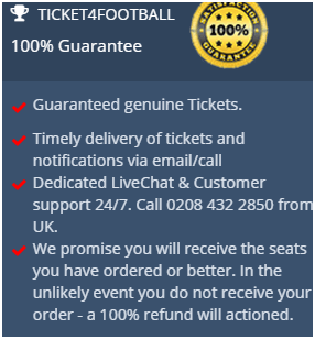Ticket4Football buyer protection