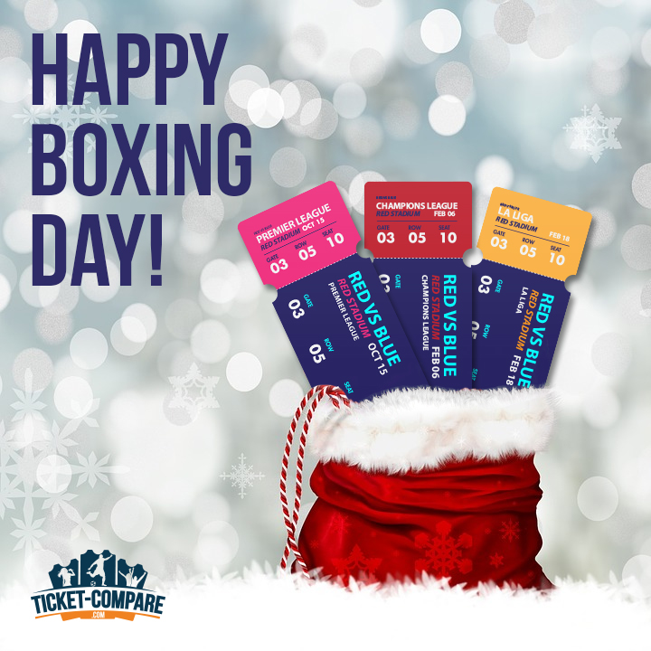 Happy boxing day from Ticket-Compare.com